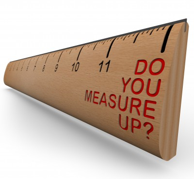 Image credit: <a href='http://www.123rf.com/photo_8535805_a-wooden-ruler-with-the-words-do-you-measure-up-symbolizing-personal-appraisal-and-assessment.html'>iqoncept / 123RF Stock Photo</a>